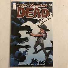 The Walking Dead #50 VF SIGNED by Robert Kirkman RARE
