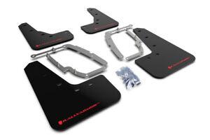 Rally Armor 17+ Tesla Model 3 UR Black Mud Flap w/ Red Logo