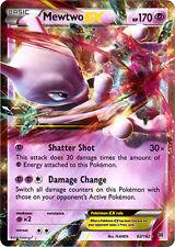 x1 Mewtwo-EX - 62/162 - Holo Rare ex Pokemon XY Breakthrough M/NM