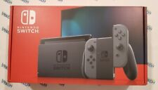 Nintendo Switch V2 32GB Console with Gray Joy‑Con Brand New And Sealed