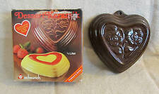 Scheurich ceramic heart pan Unused!!! Original box West Germany great gift