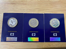 2018 Raf Spitfire £2 Coin, Sealed, Bunc / Uncirculated, Price Is Per Coin