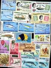 Iles Vierges - Virgin Islands 100 timbres différents