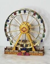 Mr Christmas worlds fair ferris wheel gold label
