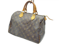 100%Auth LOUIS VUITTON Speedy 30 Hand bag Monogram Tote Vintage M41526 Travel