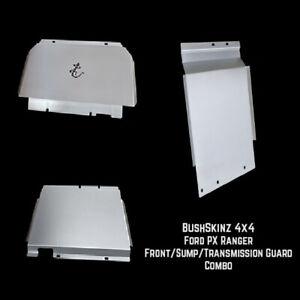 BushSkinz - Ford Everest Front Sump & Transmission Guard / Bash Plate / Skid Pla
