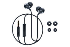 TCL ELIT Series Midnight Blue In Ear Earbud Headphones with Mic, ELIT100BL