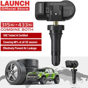 LAUNCH LTR-01 Universal Auto TPMS Tyre Tire Pressure Sensor 315MHz 433MHz IP67