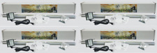 (4) Light Rail 3.5 Kit Motor w Rail Grow Light Mover Genuine Solidly Made in USA