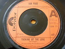 """IAN PAGE - TUCKING UP THE LOVE  7"""" VINYL"""