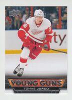 (69674) 2013-14 UPPER DECK YOUNG GUNS ROOKIE CARD TOMAS JURCO #476