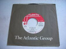 PROMO w SLEEVE AC / DC Let's Get It Up 1981 45rpm VG++