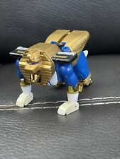 1996  Mighty Morphin Power Rangers Deluxe Zeo Megazord Blue Sphinx Zord No Tail