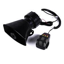 12V car truck electric air horn siren speaker 5 sound tone super loud 115db_S