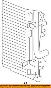 CHRYSLER OEM Air Conditioner A/C AC-Condenser 5137693AD