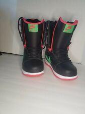 Nike Vapen Snowboard Boots Women's US 7.5 EU 38.5 NEW! PINK AND BLACK