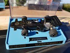 Vintage Scalextric John Player Special JPS Lotus de Fórmula 1 C050 Probado en Caja