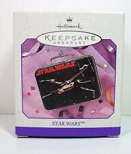 Christmas Hallmark Ornament Keepsake 1998 Star Wars Lunchbox Tin Lunch Box