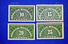 1925 US SCOTT # QE 1-4 SPECIAL HANDLING - SET OF 4  MNH OG F/VF