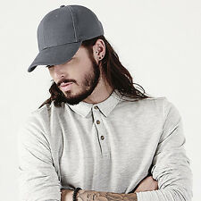 Beechfield Pro-Style Heavy Brushed Cotton Cap - Available in 10 Colours (B65)