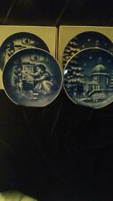Christmas Plates - German Weihnachten 1970 And Mothers Day Muttertag 1972 Plates