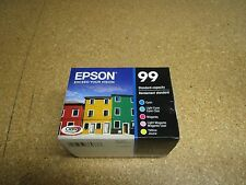Lot Of 4 Genuine EPSON 99 5 Pack Ink T099920 Multi-Color For Artisan 810 835 837