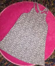 Jessica Simpson Baby Girls White Geometric 4T Toddler Strappy Summer Sun Dress