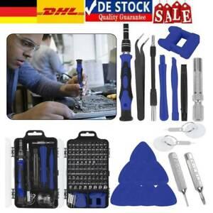 129 in 1 Feinmechaniker Schraubendreher Set Werkzeugset Für PC Handy Brillen Uhr