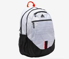 adidas Originals Medium White Padded Foundation V Backpack W Laptop Sleeve