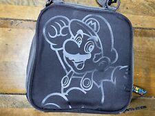PowerA Nintendo DS 3DS 3DSXL Super Mario Transporter Carrying Case Black NWOT