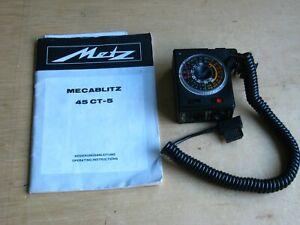Metz Megablitz 45-CT-5 Flash Control for Canon Leica, Nikon, Olympus Cameras