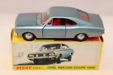 Dinky Toys 1405 D Opel Rekord Coupe 1900 SCARCE RARE GERMAN EXPORT ISSUE VNMIB