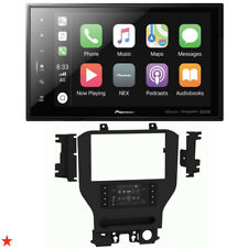"DMH-C5500NEX 8"" DIGITAL MULTIMEDIA RECEIVER + DASH KIT FOR FORD MUSTANG 2015-UP"
