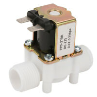 """12V NC G1/2"""" Plastic Electrical Inlet Solenoid Water Valve Water Dispense HOT"""