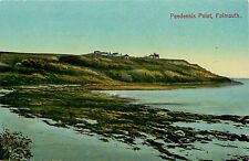 1905-15 Print Postcard; Pendennis Point, Falmouth Cornwall Uk Unposted