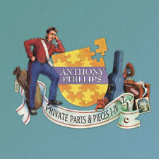 Anthony Phillips : Private Parts and Pieces I-IV CD (2015) ***NEW***