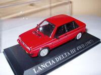 VA13F Voiture 1/43 IXO voitures d'antan : LANCIA DELTA HF 4WD 1987