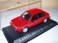 Voiture 1/43 IXO voitures d'antan : LANCIA DELTA HF 4WD 1987