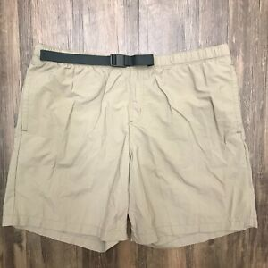 Columbia Mens Omni-Shade Protection Belted Lightweight Outdoor Shorts Size XL