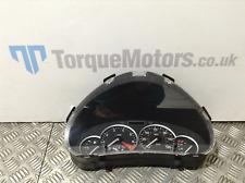 Peugeot 206 CC Speedometer Speedo Clocks