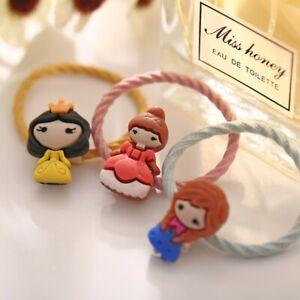 4pcs/Set Bowknot Hair Accessories Elastic Hair Bands Hair Clips Baby Girls Kids