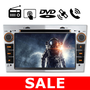"Double DIN 7"" Car DVD GPS Stereo DAB+Bluetooth for Opel Vauxhall Corsa Zafira bt"