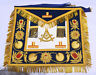 Provincial Grand Master's Apron Masonic Regalia Blue/Gold Taus Zeek Embroidered