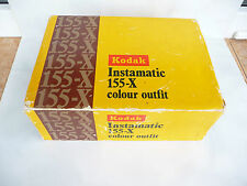 Kodak Instamatic 155-X colour outfit vintage camera with box used rare photo