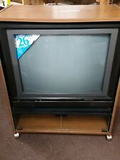 "Vintage General Electric GE 26"" MTS Stereo Color Television TV 1987 BRAND NEW!!!"