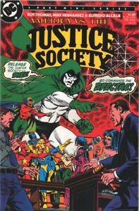 DC America vs The Justice Society 2  1985