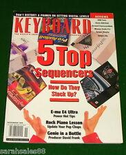 1999 KEYBOARD Magazine Apogee Rosetta AD, E-mu E4 Ultra, Kurzweil ExpressionMate