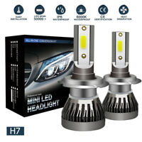 H7 COB LED 72W 9000LM Coche Headlight Luz Bombillas Lámpara Xenón Blanco 6000K