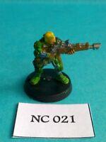 Necromunda - Van Saar with Lasgun - Metal NC21