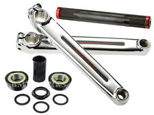 Redline Flight BMX Crank Set Chome-Moly 180mm with Euro Bottom Bracket